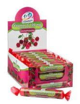 1x1 vitamin c-vitamin 100 mg szőlőcukor rágótabletta cseresz 17 db