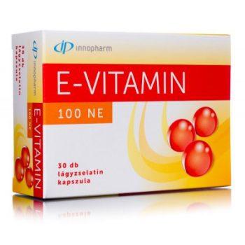 INNOPHARM E-VITAMIN 100 NE KAPSZULA 30DB