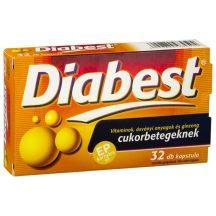 Innopharm diabest étrend-kiegészítő kapszula 32 db