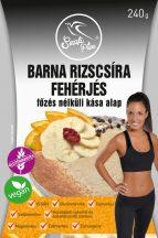 Szafi Free barna rizscsíra fehérjés főzésnélküli kása alap 240 g