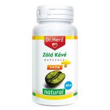 Dr.herz zöld kávé+króm+c-vitamin kapszula 60 db