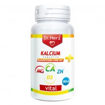 DR.HERZ KALCIUM+MAGNÉZIUM+CINK+D3 TAB.