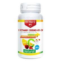 DR.HERZ C-VITAMIN+D3+ZN-TABLETTA 60 db