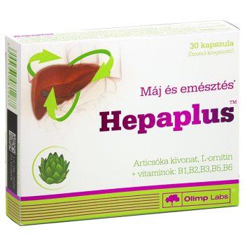 Olimp Labs® Hepaplus™ Articsóka kivonat - 17,5mg cinarin tartalom kapszulánként! Máj, epe, emésztés.