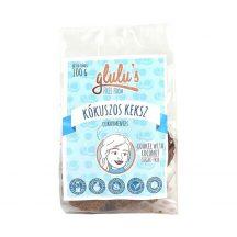 Glulu freefrom cukormentes kókuszos keksz 100 g