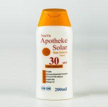 Jutavit apotheke solar naptej spf30 200 ml