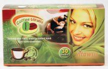 Vitálvár makka coffee vitalis instant zöld kávé 30 db