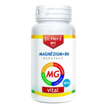 DR.HERZ MAGNÉZIUM+B6 KAPSZULA