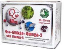Dr.chen q10+ginkgo+omega3 kapszula 30 db