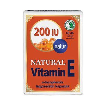 Dr.chen natural vitamin e 200 kapszula 60 db
