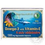 DR.CHEN OMEGA-3+ E-VIT. KAPSZULA 1300 MG 60 db