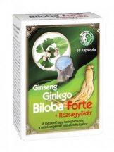 Dr.chen ginseng ginkgo b. forte+rózsagyökér kapszula 30 db