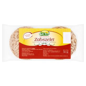 NETT FOOD PUFFASZTOTT ZAB TALLÉR 50 g