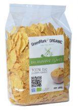 Greenmark bio amaránt flakes reggelizőpehely 200 g