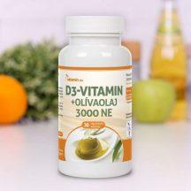 Netamin D3-vitamin+Olivaolaj 3000 NE