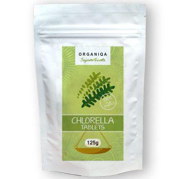 Organiqa bio chlorella tabletta 125 db