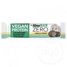 Absorice absobar zero vegan proteinszelet vanilla cookies 40 g