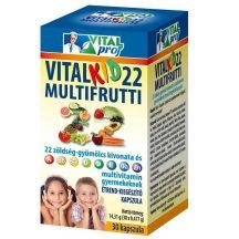 Vitalkid22 multifrutti 22 60 db