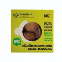 Majomkenyér törökmogyorós keksz chia maggal 50 g
