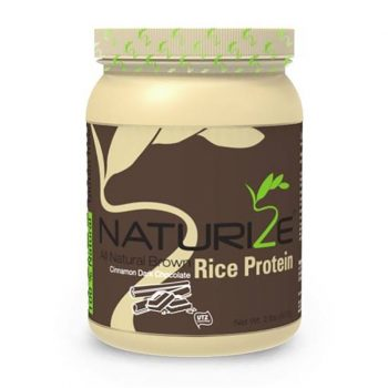 Naturize barna rizs fehérje fahéjas fekete csoki ízű 816 g
