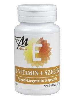 Dr.m prémium e-vitamin + szelén étrend-kiegészítő kapszula 60 db