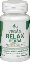 Dr.m vegán relax herba bioperine-nel kapszula 60 db