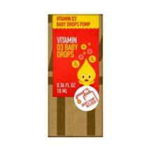 Vitamin Bottle d3 vitamin baby csepp 10 ml