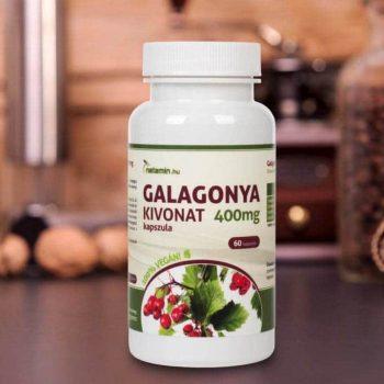 Netamin Galagonya-kivonat 400 mg kapszula