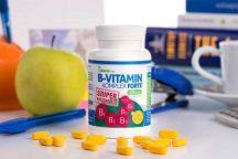 Netamin B-vitamin komplex FORTE - SZUPER kiszerelés (120 tabl.)
