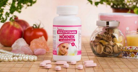 Netamin Multivitamin Nőknek kollagénnel és hialuronsavval