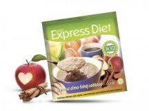 Natur Tanya® Expressz Diéta - Piros alma - Keleti fahéj zabkása. Zsírégető Antikatabolikus ketogén étel.