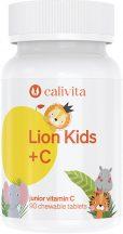 CaliVita Lion Kids C rágótabletta C-vitamin gyerekeknek 90db