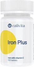 CaliVita Iron Plus tabletta Vas C-vitaminnal 100db