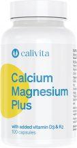 CaliVita Calcium Magnesium PLUS kapszula Kalcium, magnézium + D3- és K2-vitamin 100db