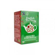Ets bio zöld tea gránátalma 20x1,5g 30 g