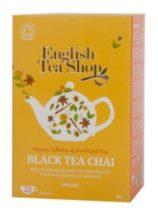 Ets bio fekete tea chai 20x2g 40 g