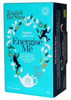 Ets wellness bio tea energise me koffein mentes 20x1.5g 30 g