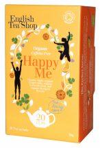 Ets wellness bio tea happy me koffein mentes 20x1.5g 30 g