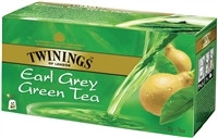 Twinings earl grey zöld tea 25x1,6 g 40 g