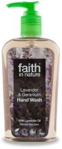 FAITH IN NATURE KÉZMOSÓ LEVEND.-GERÁNIUM 300 ml