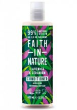 Faith in nature hajkondícionáló levendula-geránium 400 ml
