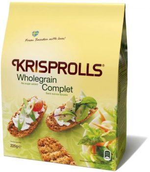Krisprolls teljeskiőrlésű kenyérke hozzáadott cukor nélkül 225 g