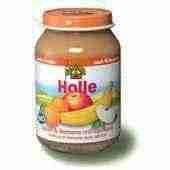 Holle bio bébiétel alma-banán-sárgabarack 190 g