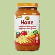 Holle bio bébiétel bolognai spagetti 220 g
