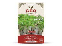 Bavicchi Bio Bazsalikom csíráztatáshoz - C + E + béta-karotin, vas, kalcium, A és B1 vitamin tartalom.