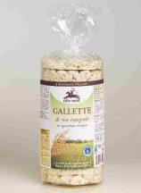 Alce Nero bio teljes kiőrlésű rizskeksz 100 g