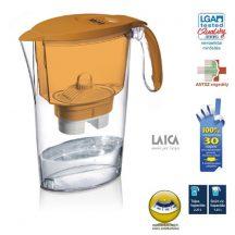 Laica clear line vízszűrőkancsó narancssárga 1 db