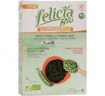 Felicia Bio Zöldborsó fusilli gluténmentes tészta 250 g