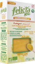 Felicia Bio Sárga lencse lasagne gluténmentes tészta 250 g