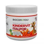 Biocom Kindervit - trópusi gyümölcsízű italpor 190 gr